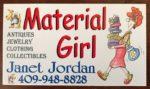 Material Girl – Tent B