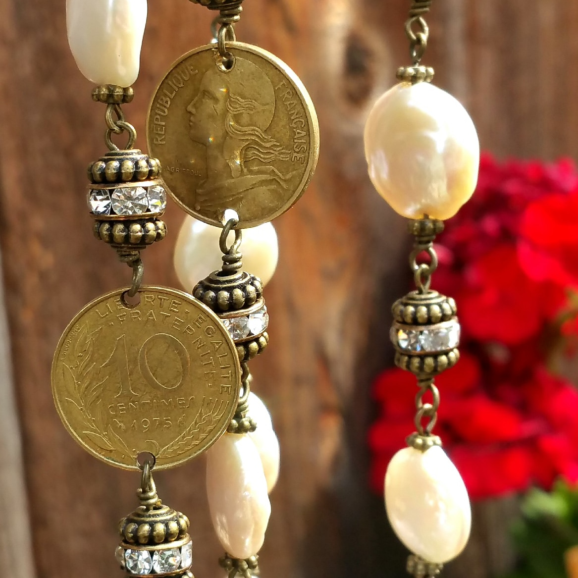 French Coin Jewelry