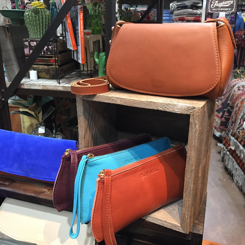 Saddle Tan Leather Crossbody