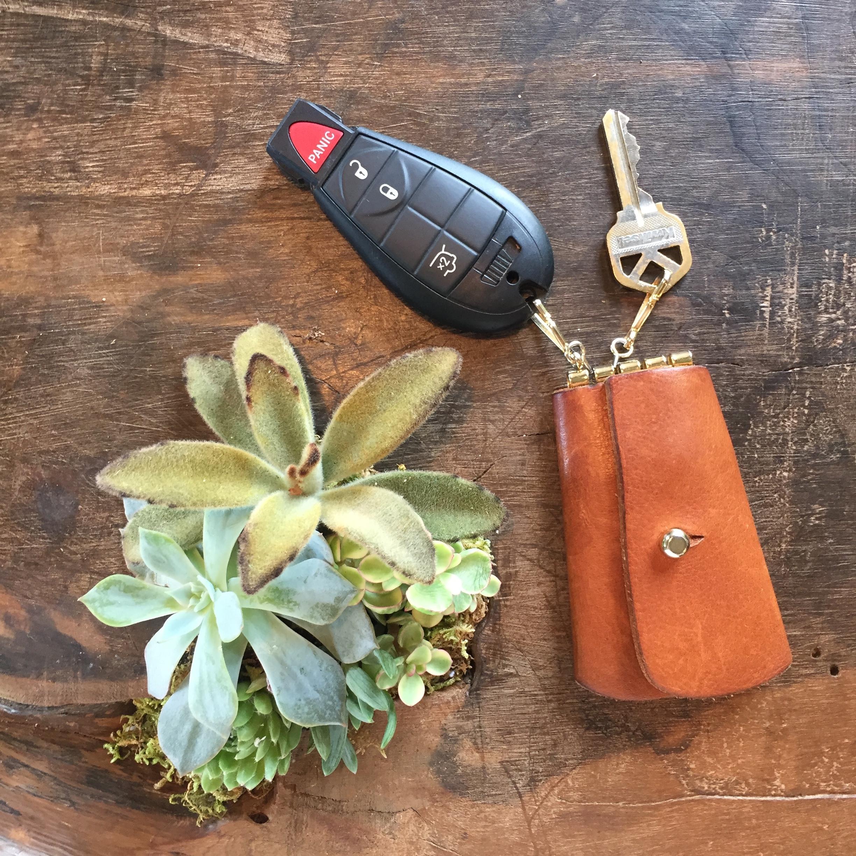 Retro Leather Key Case