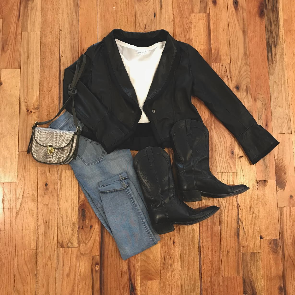 Jacket + Purse
